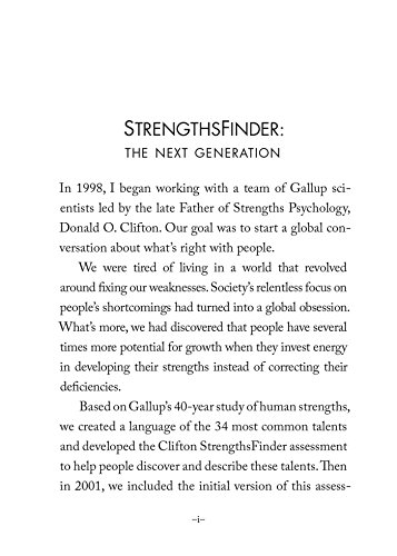 StrengthsFinder 2.0 by Tom Rath (2007, Hardcover) new free shipping