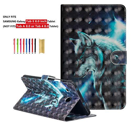 Dteck Folio Case for Samsung Galaxy Tab E 8.0