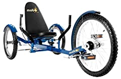 A recumbent beach cruiser tricycle designed for those of us who want a little exercise and fun outside. This recumbent three-wheel bicycle is great for exercise, leisure rides, a quick trip to the market, or even walking the dog.   Trike rec...