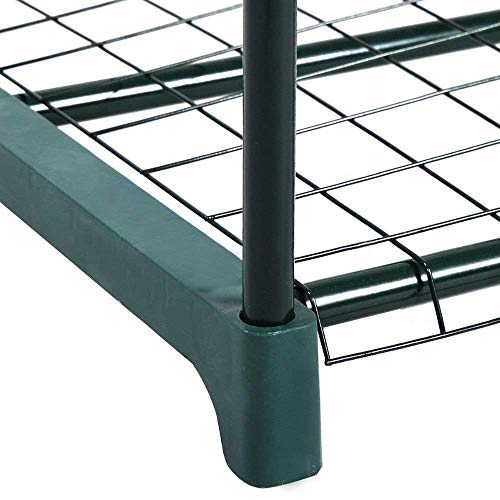 FORUP Mini Greenhouse 4 Tier, 27'' L x 19'' W x 62'' H (Green) by FORUP (Image #5)