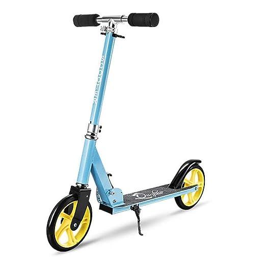 Scooters Pedal de Patinete, Pedal de Estudiante de Dos ...