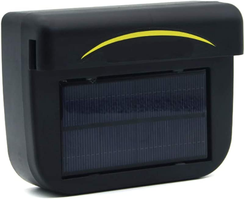 Ventilateur d/échappement JeromKewin climatiseur Solaire respectueux de lenvironnement pour Grille da/ération de Voiture