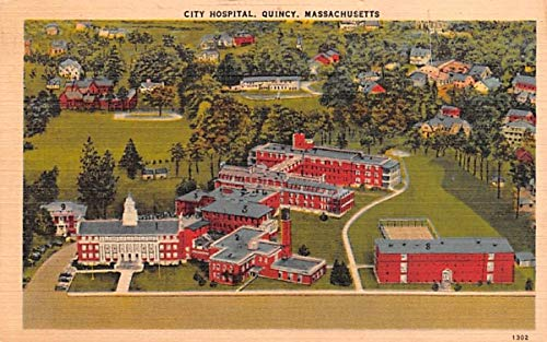 City Hospital Quincy, Massachusetts Postcard