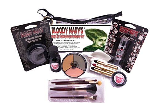 Bloody Mary Bride of Frankenstein Professional Undead Makeup Kit