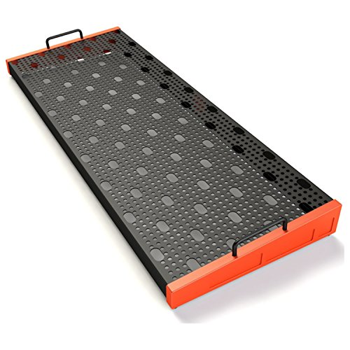 Temple Audio Design Duo 34 (34'' x 12.5'') Pedalboard Temple Red Templeboard by Temple Audio