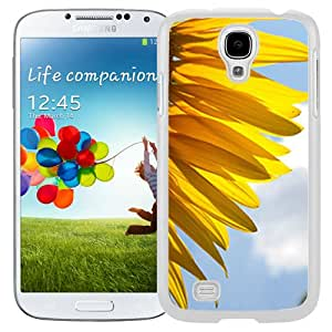 Fashionable Designed Cover Case For Samsung Galaxy S4 I9500 i337 M919 i545 r970 l720 With Sunflower Petals Flower Mobile Wallpaper (2) Phone Case
