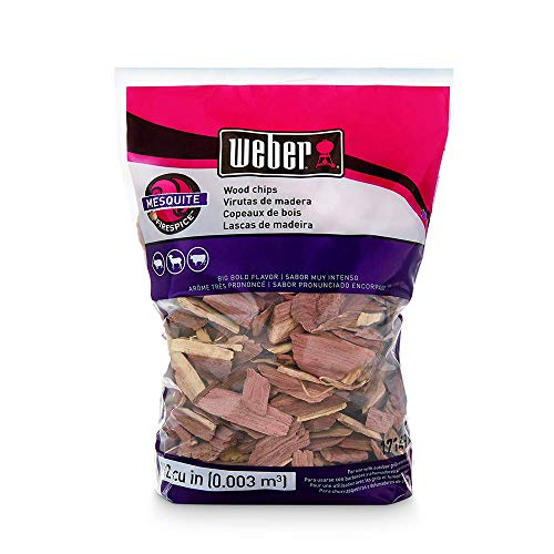 Weber #17149 Mesquite Wood Chips (5-Pack) ()