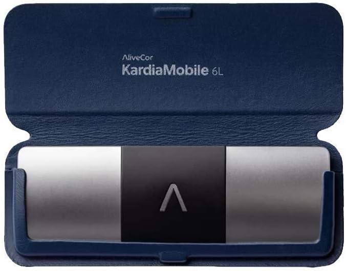 Kardia Mobile con con Funda azul