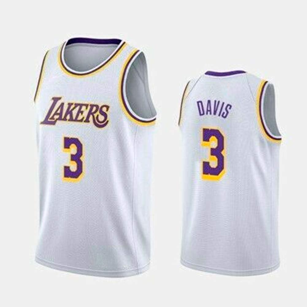 ZXR Los Angeles Lakers 3 - Equipación de Baloncesto, Anthony Davis ...
