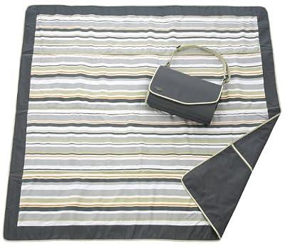 JJ Cole Outdoor Blanket,Blue Orbit, 5' x 5'