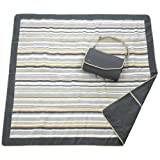 JJ Cole JEMGG Outdoor Mat, Gray/Green