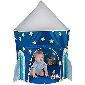 PEPECO Children Play Tent Kids Rocket Ship Indoor Playhouse  sc 1 st  Amazon.com & Amazon.com: PEPECO Children Play Tent Kids Rocket Ship Indoor ...
