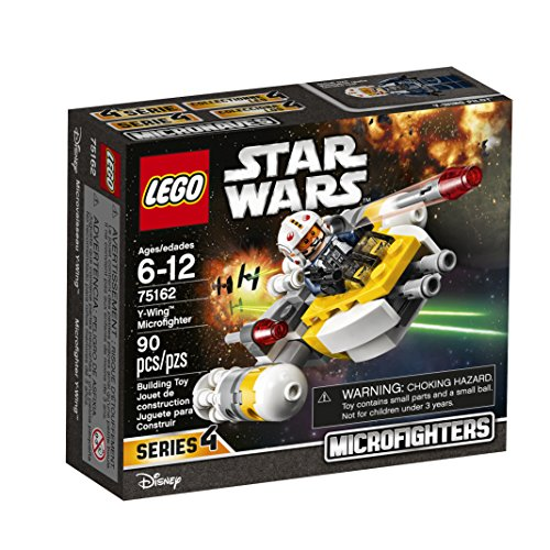 LEGO Star Wars Y-Wing Microfighter 75162 Building