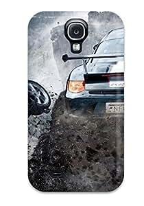 New Tpu Hard Case Premium Galaxy S4 Skin Case Cover(3d Car Games2)