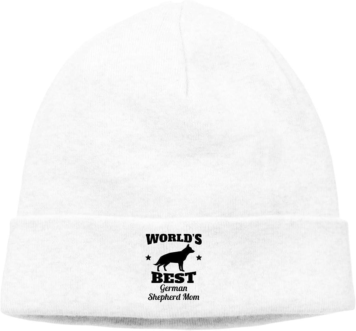 Beanie Hat German Shepherd Dog Mom Warm Skull Caps for Men and Women