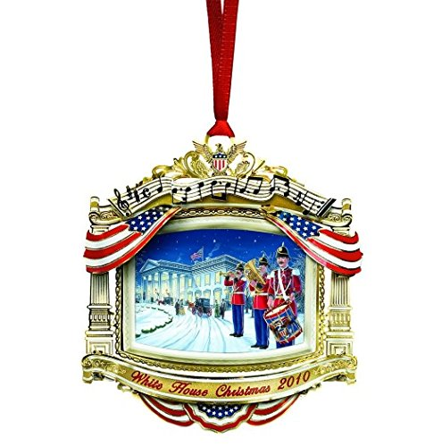 2010 White House Christmas Ornament, The United States...
