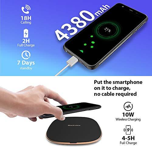 Telephone Portable Incassable, Blackview® BV6300 Pro Smartphone Débloqué 4G (Quad Caméra 16MP, Android 10, Helio P70… 5