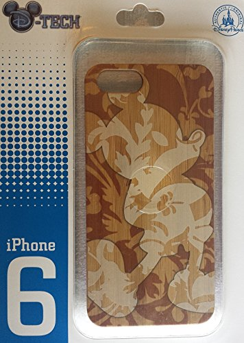 DISNEY D-TECH BROWN CAMO MICKEY MOUSE WOODEN TOP iPHONE 6 - Typhoon Lagoon Disneyworld