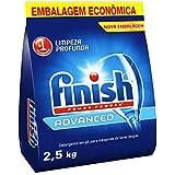 Advanced Detergente em Pó Para Lava Louças 2, 5 kg, Finish