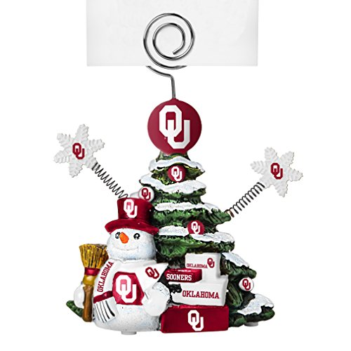 - NCAA Oklahoma Sooners Tree Photo Holder