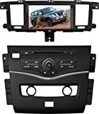 8 Inch Touch Screen Car GPS Navigation for NISSAN PATROL 2010-2016 Stereo DVD Player Video Radio Audio Bluetooth Steering Wheel Control AUX IN+Free Rear View Camera+Free GPS Map of USA