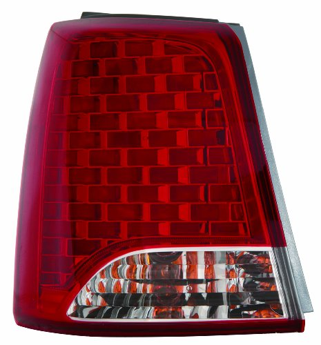 Depo 323-1936L-AS Kia Sorento Driver Side Outer Tail Lamp Assembly with Bulb and Socket