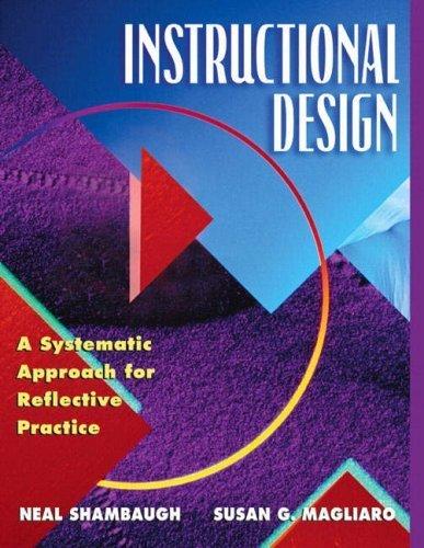 Instructional Design by Neal N. Shambaugh (2005-07-28)