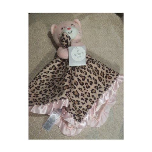 Carters Cuddle Blanket Rattle Leopard