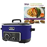 Ninja 6 Quart 4-In-1 Slow Cooker with Recipe Book (Certified Refurbished) Review