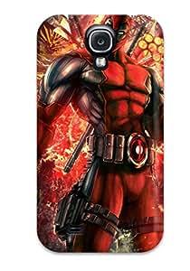 Miri Rogoff's Shop 1815061K37314247 Galaxy S4 Case Cover Deadpool Case - Eco-friendly Packaging