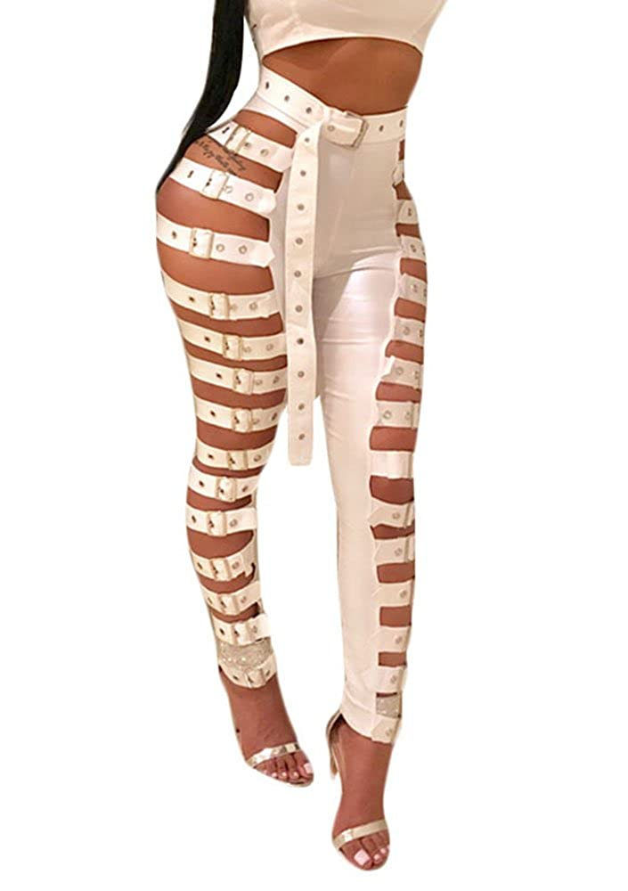 4bdb029b1 Pull On closure. Material: Polyester Fiber and Faux Leather, lightweight  and stylish. Feature: high waisted/ ankle length/ rider pencil pants/ side  snap in ...