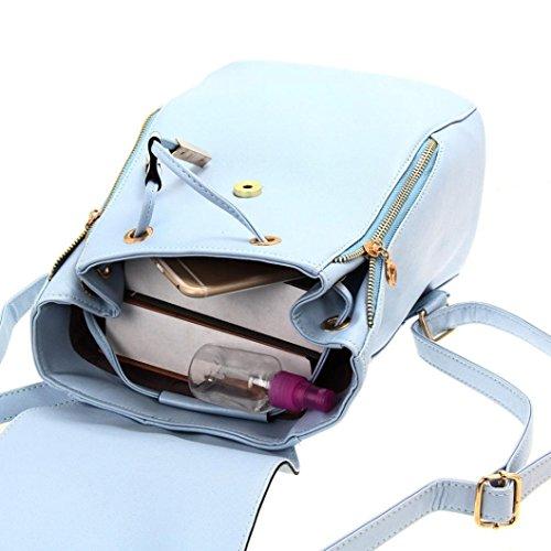 Coloré petit dos couleurs en sac Bleu TM 3 à cuir r4PHqr5