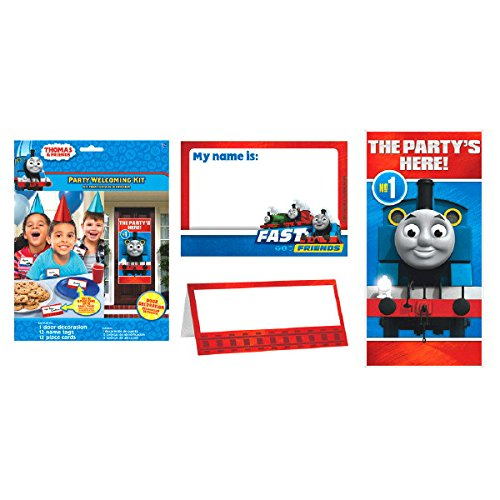 Thomas the Train Tank Engine (Thomas and Friends) Party Welcoming Kit Birthday Party Supplies & Decorations