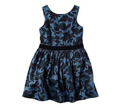 Blue 8 Carter's 2T Black Girls' Floral Dress w0q1UWCZv