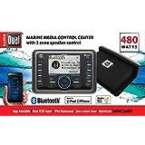 Dual Marine MMC36BT Bluetooth 480 Watt Media Control Center Receiver