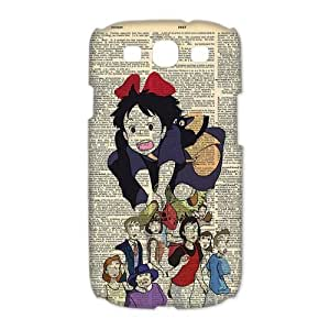 Amazing Miyazaki Film KiKis Delivery Service Bookpage Print Design Case for Samsung Galaxy S3 I9300 Casehome-01930