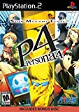 Shin Megami Tensei: Persona 4 is a console role-playing game (RPG) for Sony's PlayStation 2. Chronologically the sixth installment in the Persona series, Persona 4 is a suspenseful countryside murder mystery with multiple twists and turns in the plot...