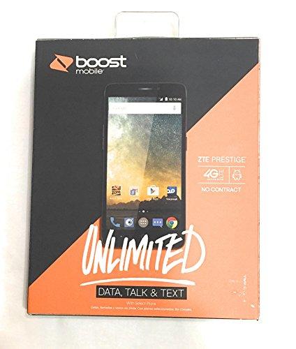 ZTE Prestige Smartphone, No-Contract, Boost - Zte Mobile Phone Boost