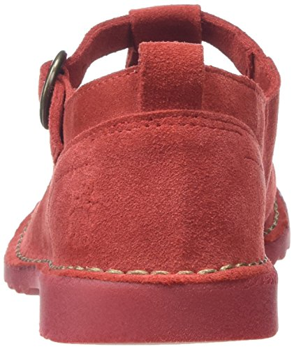 Street Zapatos London 001 Rojo Bar Red P801459004 Fly T Mujer xwTp0x74q