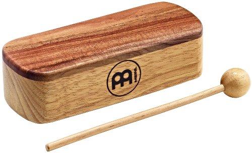 (Meinl Percussion PMWB1-M Medium Professional Wood Block, Natural Finish)