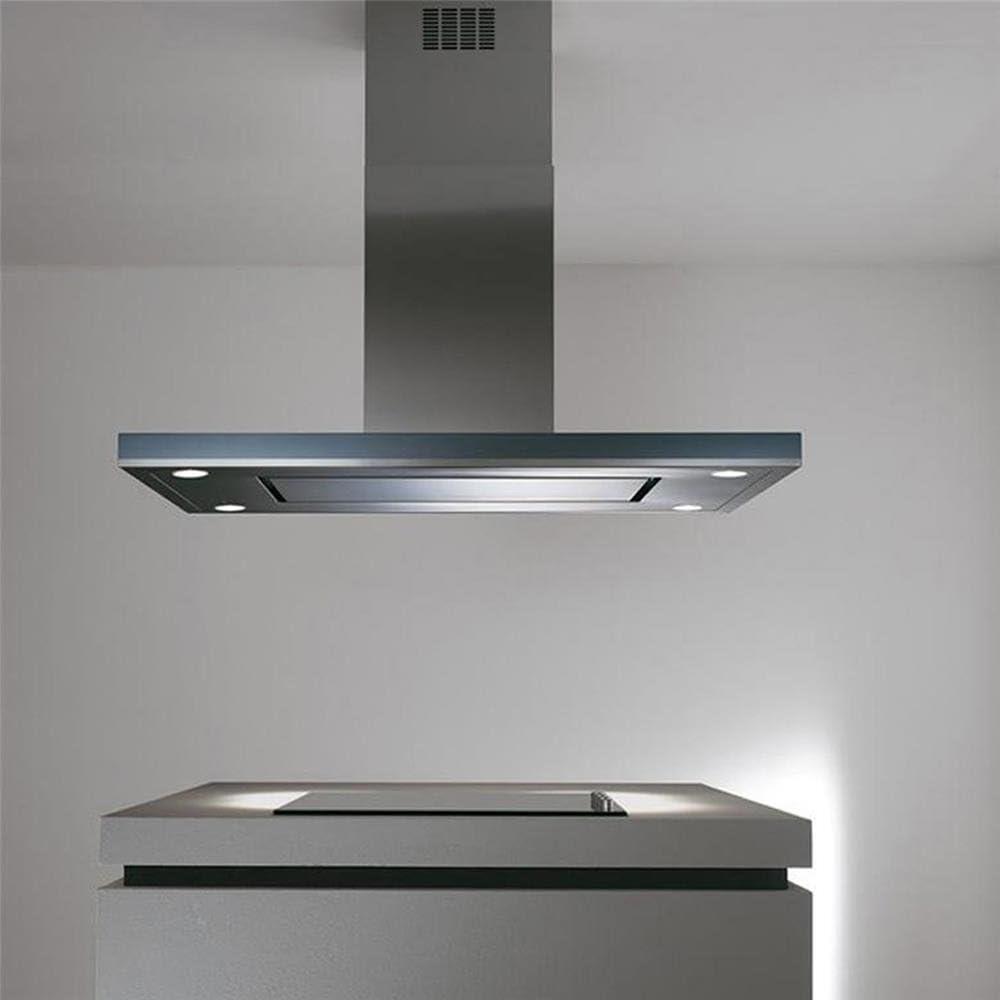 Campana Cocina Elica en islote Meridiana EDS 120 x 70 cm: Amazon.es: Grandes electrodomésticos