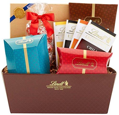 Celebration Chocolates (Lindt Lindor Celebration Chocolate Gift Basket, Assorted)