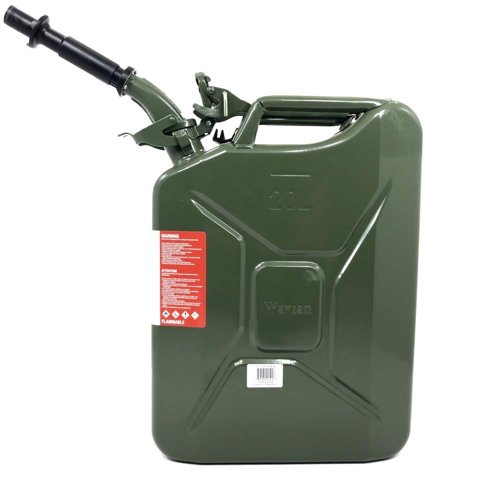 with OD Flex Spout Red Wavian Jerry Can 5 Gallon