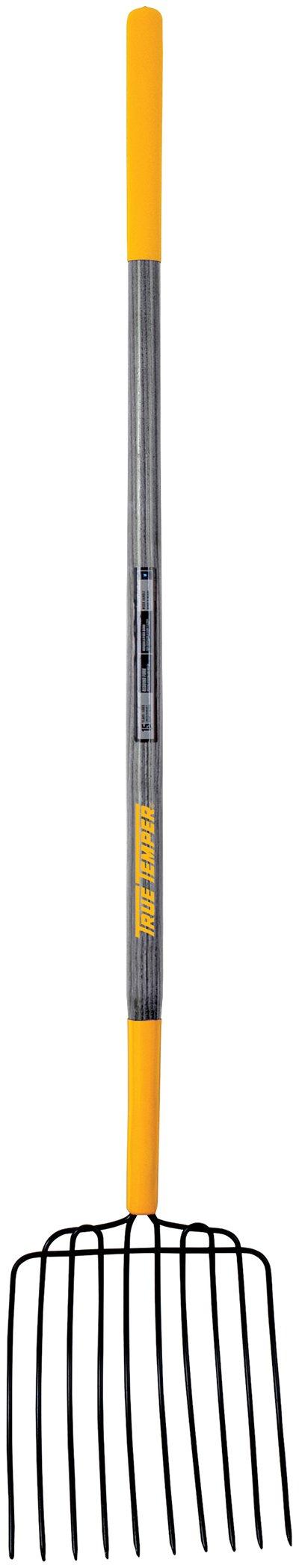 The AMES Companies, Inc True Temper 10-Tine Hardwood Handle Bedding Fork - 2812400