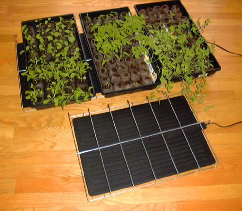 Gro Mat Plant Heater with Wire Rack (6-Pack), 17''x38'' by MatsMatsMats.com