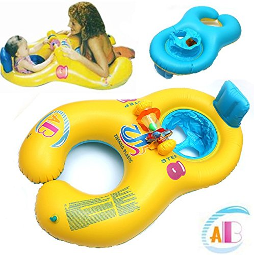Baby Swimming Pool Floating Inflatable Swimming Pool Swimming Pool Children Chair Seat Floating Parent and Baby
