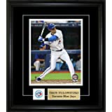 Frameworth Troy Tulowitzki-Framed 8x10-Inch Etched Mat Pin and Plate-Toronto Blue Jays