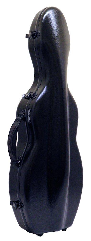 Tonareli Fiberglass Violin Case - Black 4/4 VNF1001