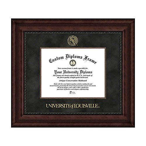 Campus Images NCAA University of Louisville Executive Diploma Frame by Campus Images