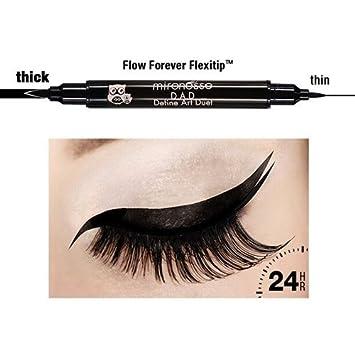 Mirenesse 2 IN 1 24Hr Longwear Liquid Eye Liner Pen   100% Water